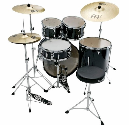一般的なドラムセット