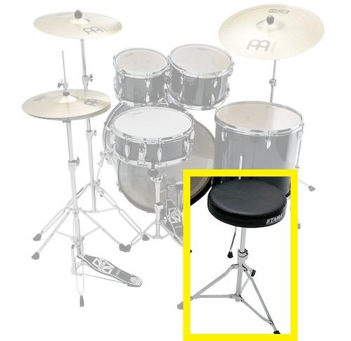 ドラムの名称:ドラムスローン