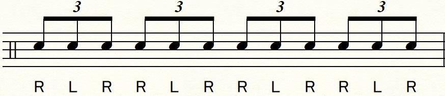 シャッフルビートの練習のコツ